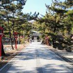 吉備津彦神社に寄りました