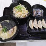 光麺の野菜盛りトッピングはオススメ
