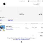 「Appleからの領収書」を装った詐欺メール