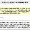 NHKのインターネット同時配信を議題とした衆議院・総務委員会