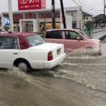 総社市内で水はけの悪い地域