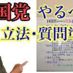 古是三春こと篠原常一郎さん提案の立法・質問準備
